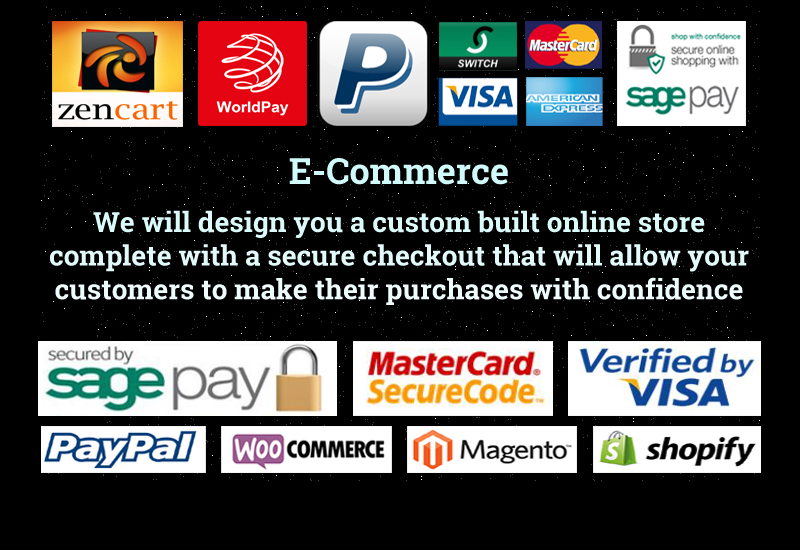 ecommerce solutions designed for you